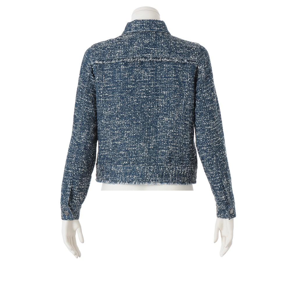 イタリア製生地 サマーツイードジャケット