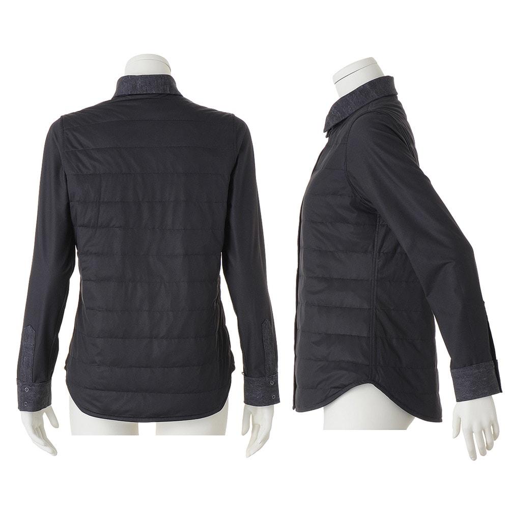 ダウン入り リバーシブル シャツジャケット ※今回こちらのお色の販売はございません。参考画像です
