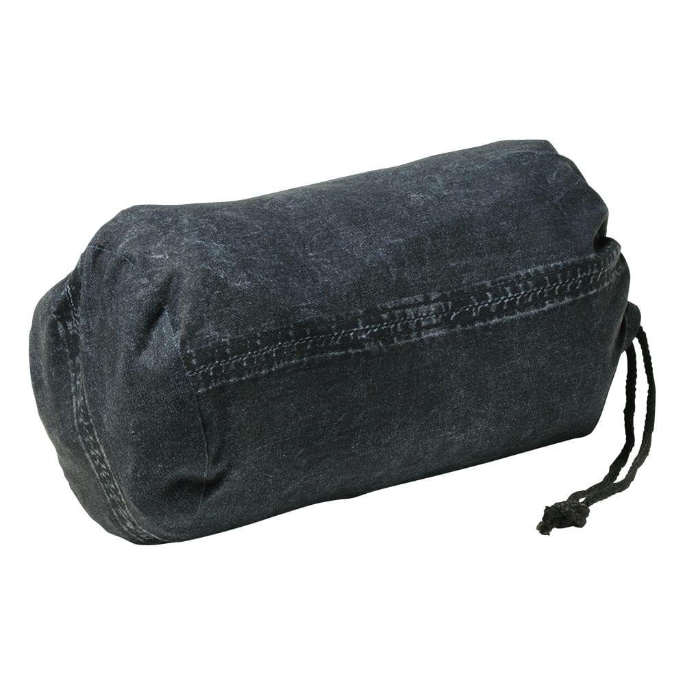 ダウン入り リバーシブル シャツジャケット 専用の収納袋付き。コンパクトに持ち運ぶことができます。