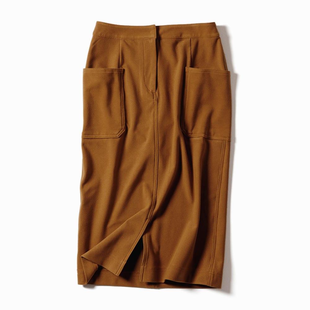 細コーデュロイ風 ジャージー スカート(サイズ64) ※今回こちらのお色の販売はございません。参考画像です。