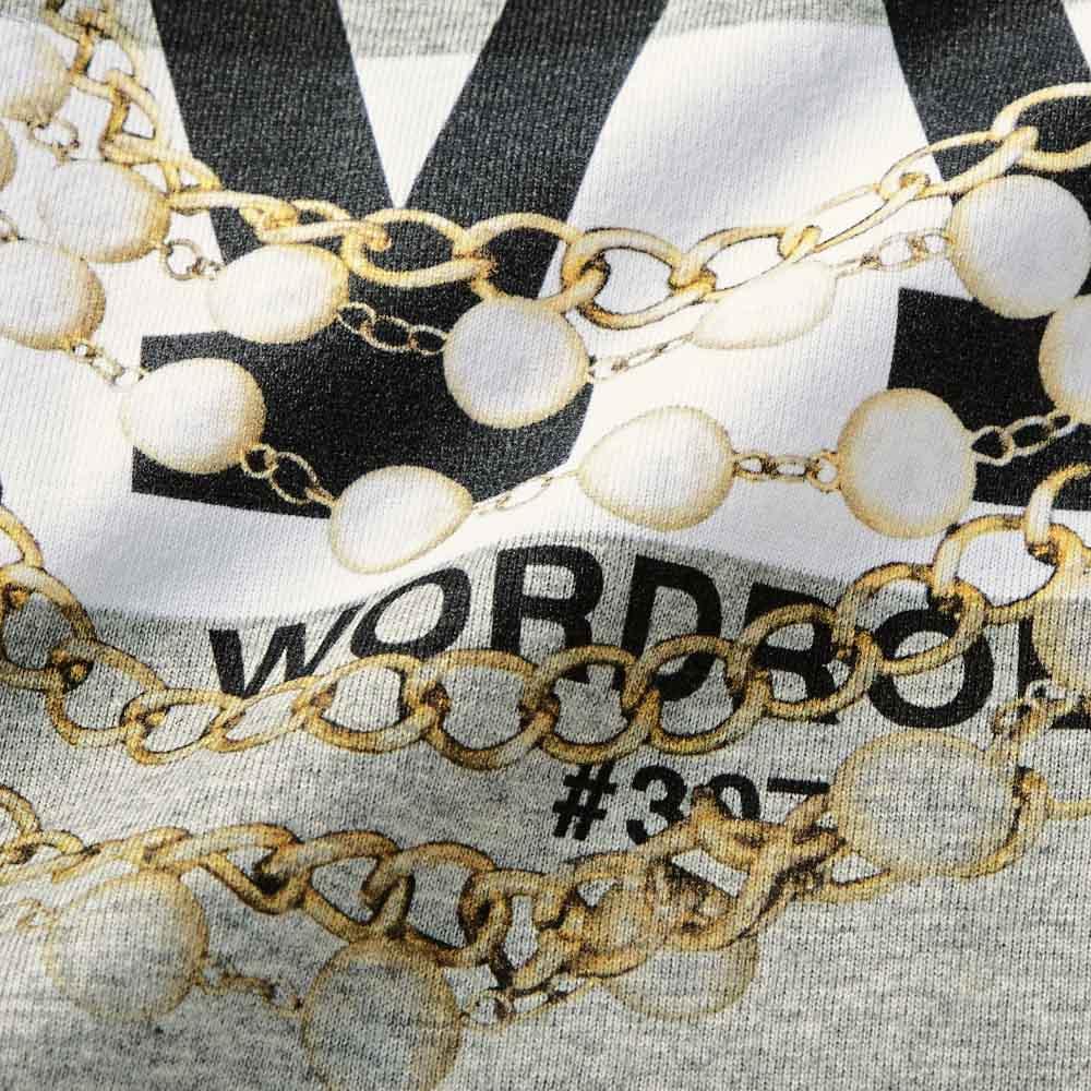 WORDROBE/ワードローブ ボーダーTシャツ