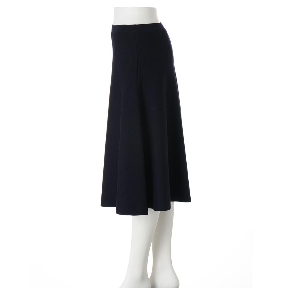 ニット フレアースカート(サイズ3L)