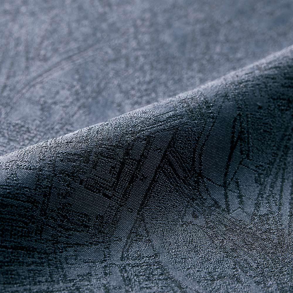 イギリス素材 シルク マップ柄 ジャカード タックスカート 生地アップ