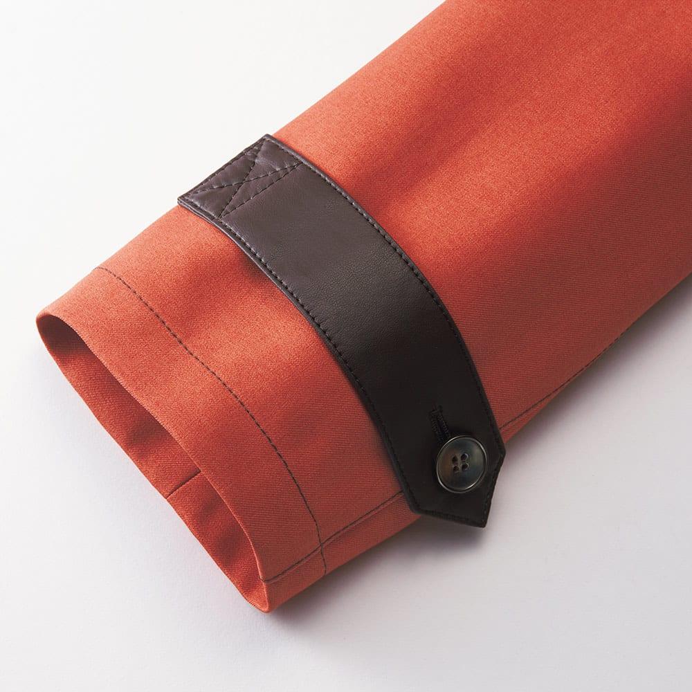 ボンディング フーデッドコート 袖口