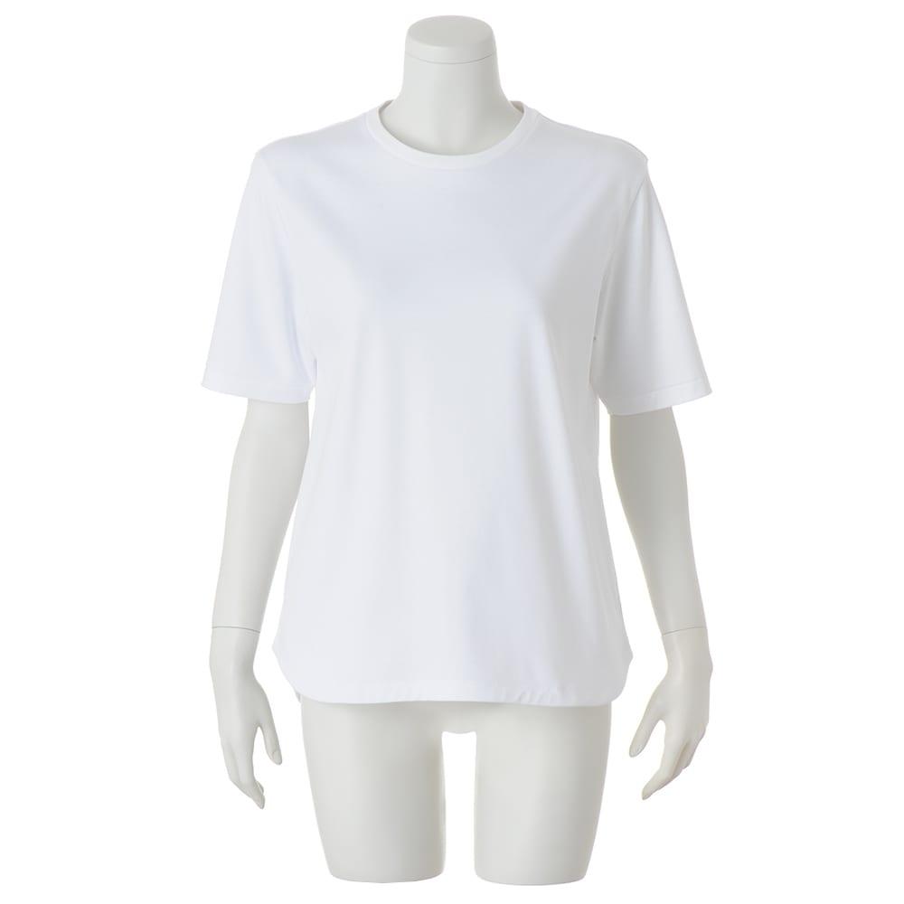 STIR/スティア ハイゲージスムース Tシャツ (イ)オフホワイト