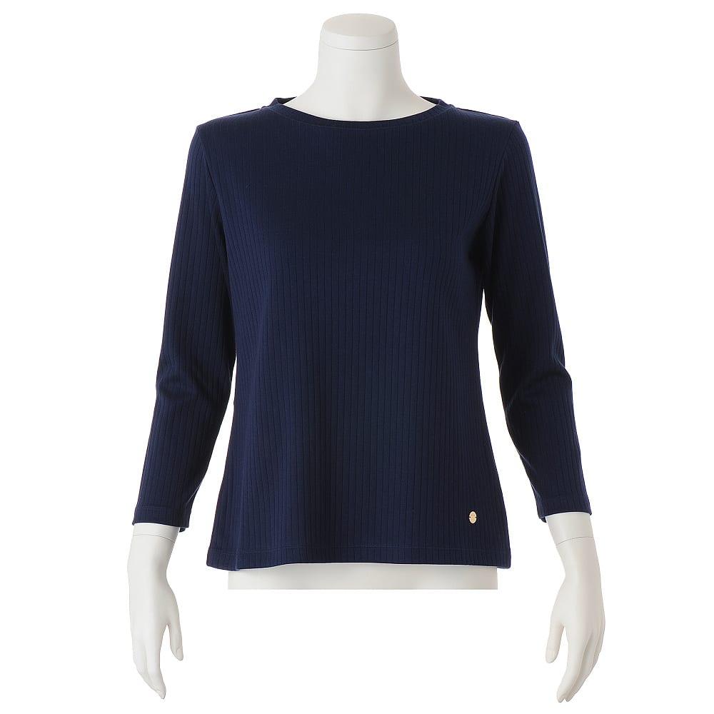 超長綿スビンギザコットン ワイドリブ長袖Tシャツ(サイズS) ※今回こちらのお色の販売はございません。参考画像です。