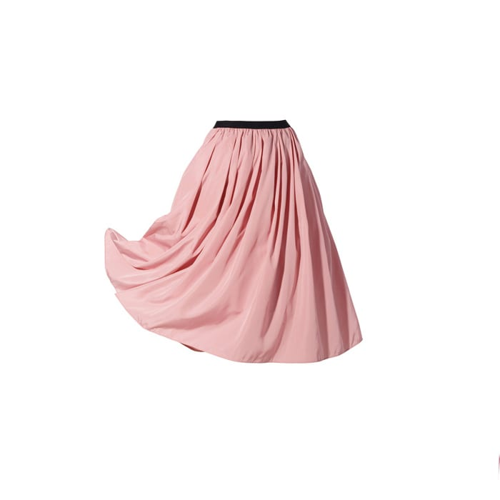 (総丈63cm)TRECODE/トレコード 神戸・山の手スカート (イ)ピンク
