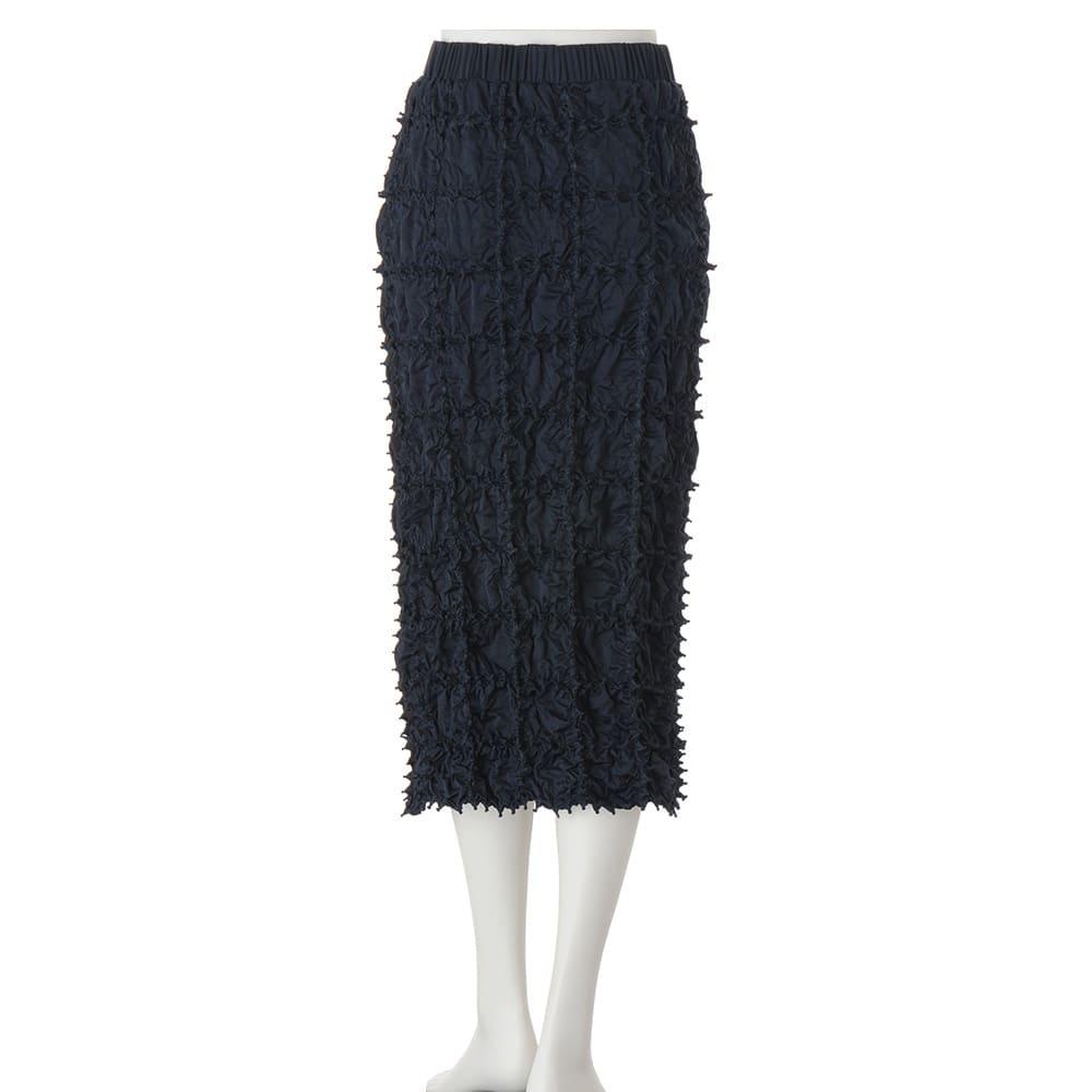 有松絞り Iライン スカート(サイズ1)