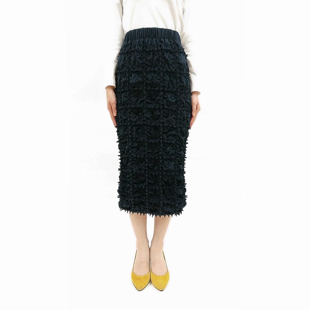 有松絞り Iライン スカート(サイズ1) コーディネート例