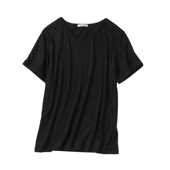 美デコルテ(R) クルーネック半袖Tシャツ(サイズS)