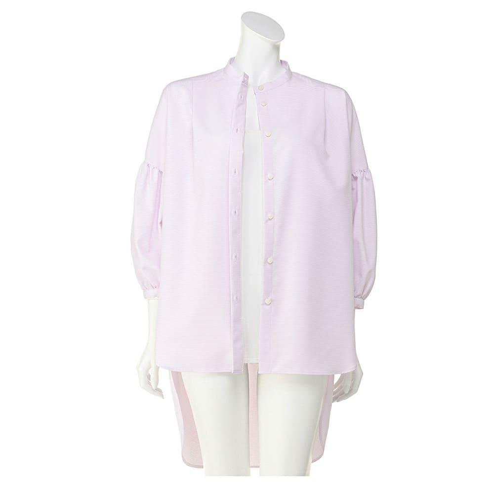 機能素材 シグマティ(R) バックコクーンシャツ