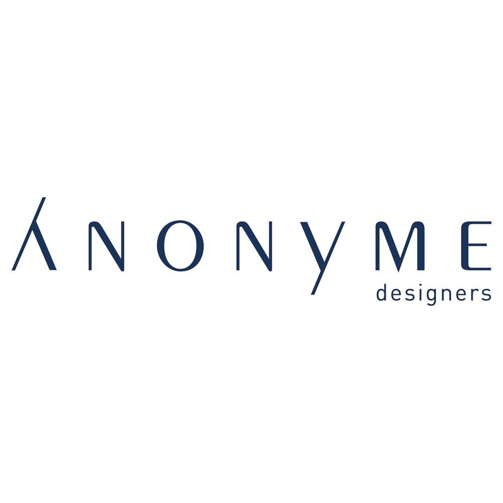 ANONYME/アノニム 幾何学柄プリーツスカート