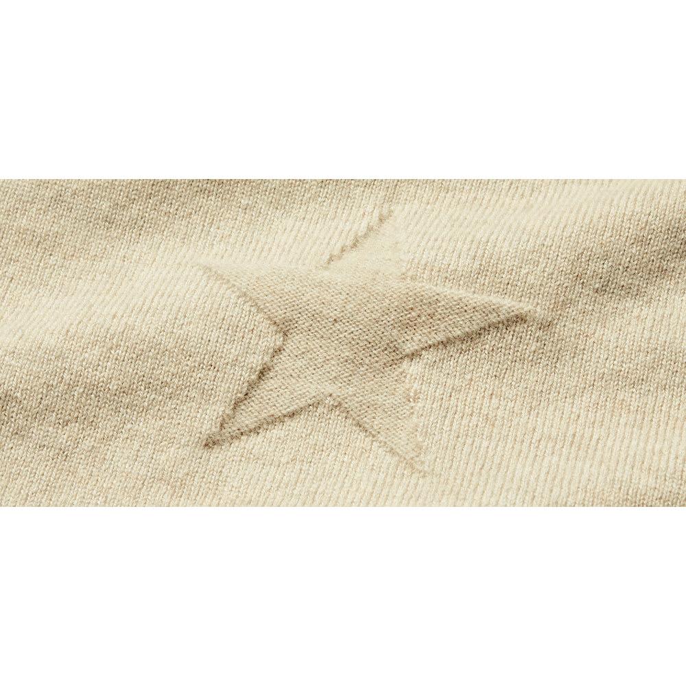 ホールガーメント(R) 星柄リンクス編みニットプルオーバー