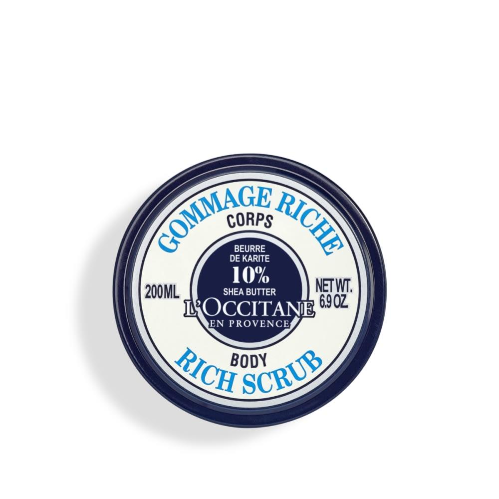 L'OCCITANE/ロクシタン シア スクラブ&フットバーム