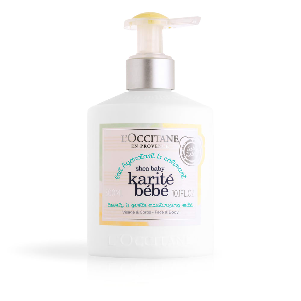 L'OCCITANE/ロクシタン シア ベイビー モイスチャーミルク 300ml 【通販】
