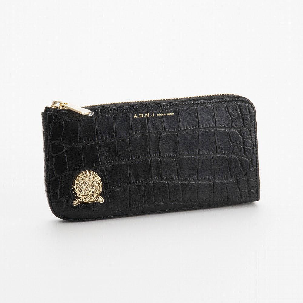 A.D.M.J./エーディーエムジェー 財布 ACS06019 (ア)ブラック