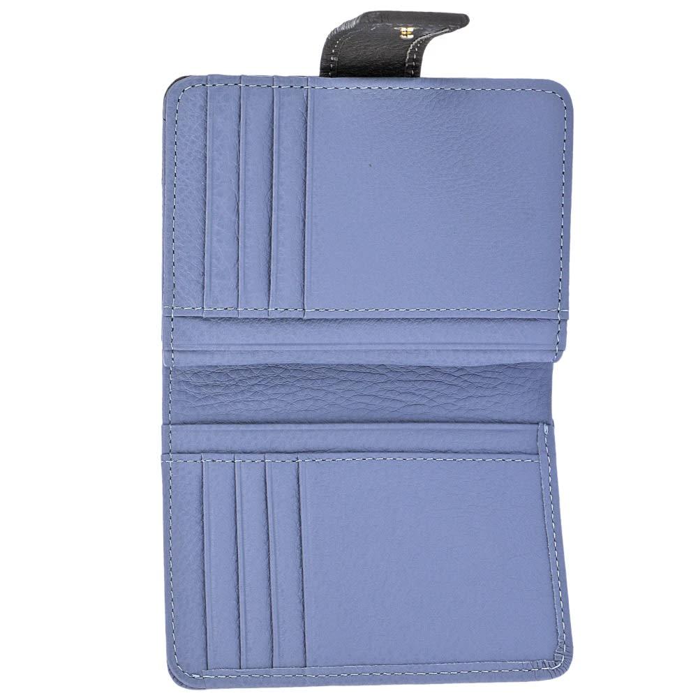 シュヴァル・エレ 折財布 FILW013 (ウ)ブルー/ダークグレー inside