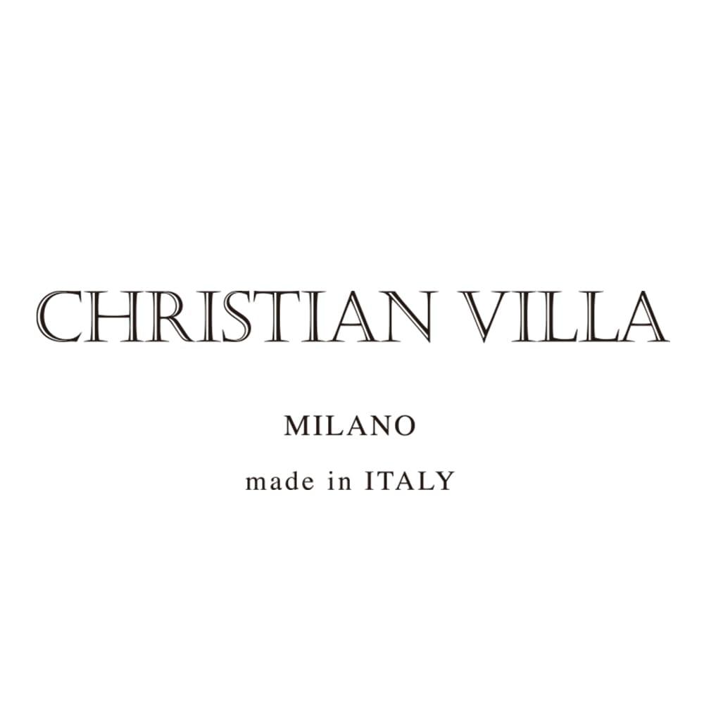 CHRISTIAN VILLA/クリスチャンヴィラ 素材コンビ トートバッグ(イタリア製)