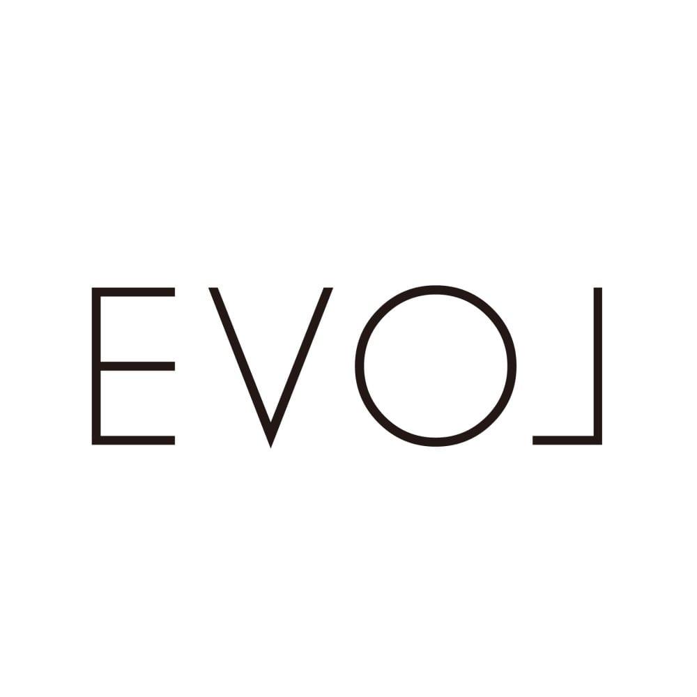 EVOL/イーボル クロコ型押しコインローファー