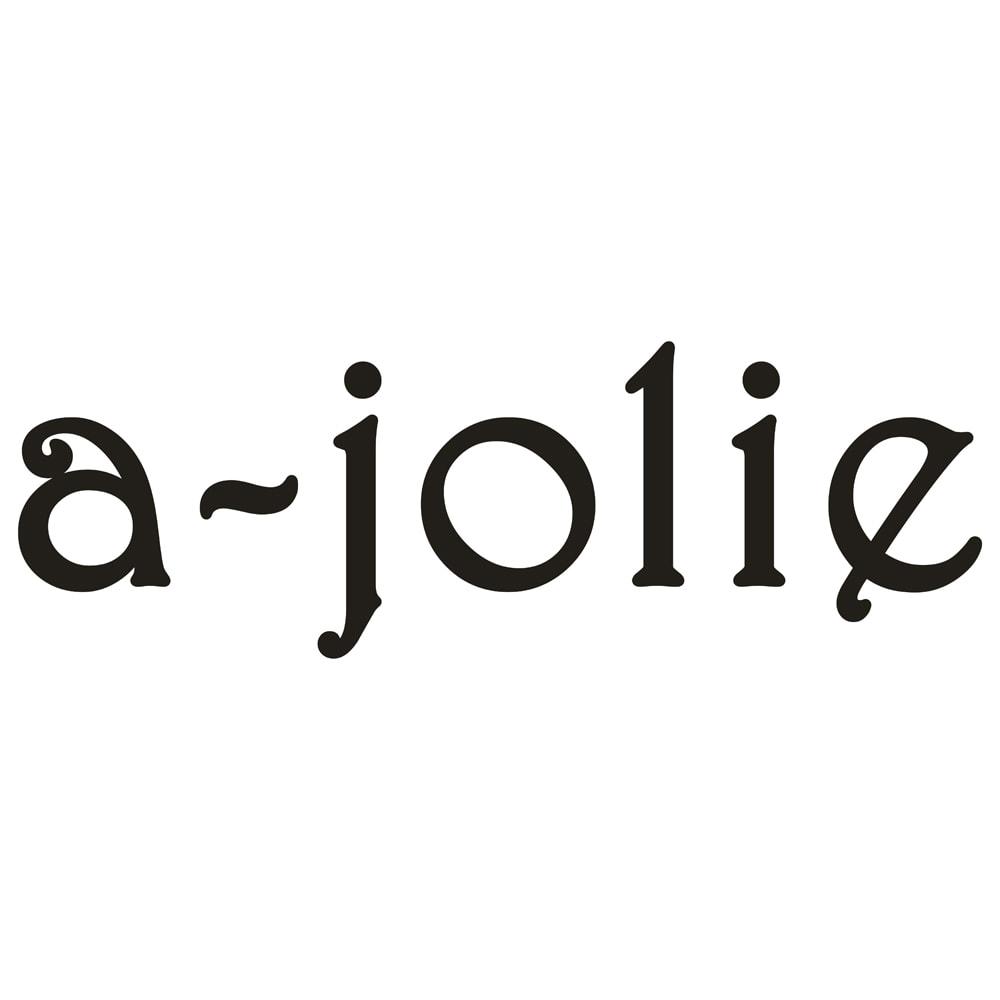 a-jolie/アジョリー リップ刺しゅう カゴバッグ