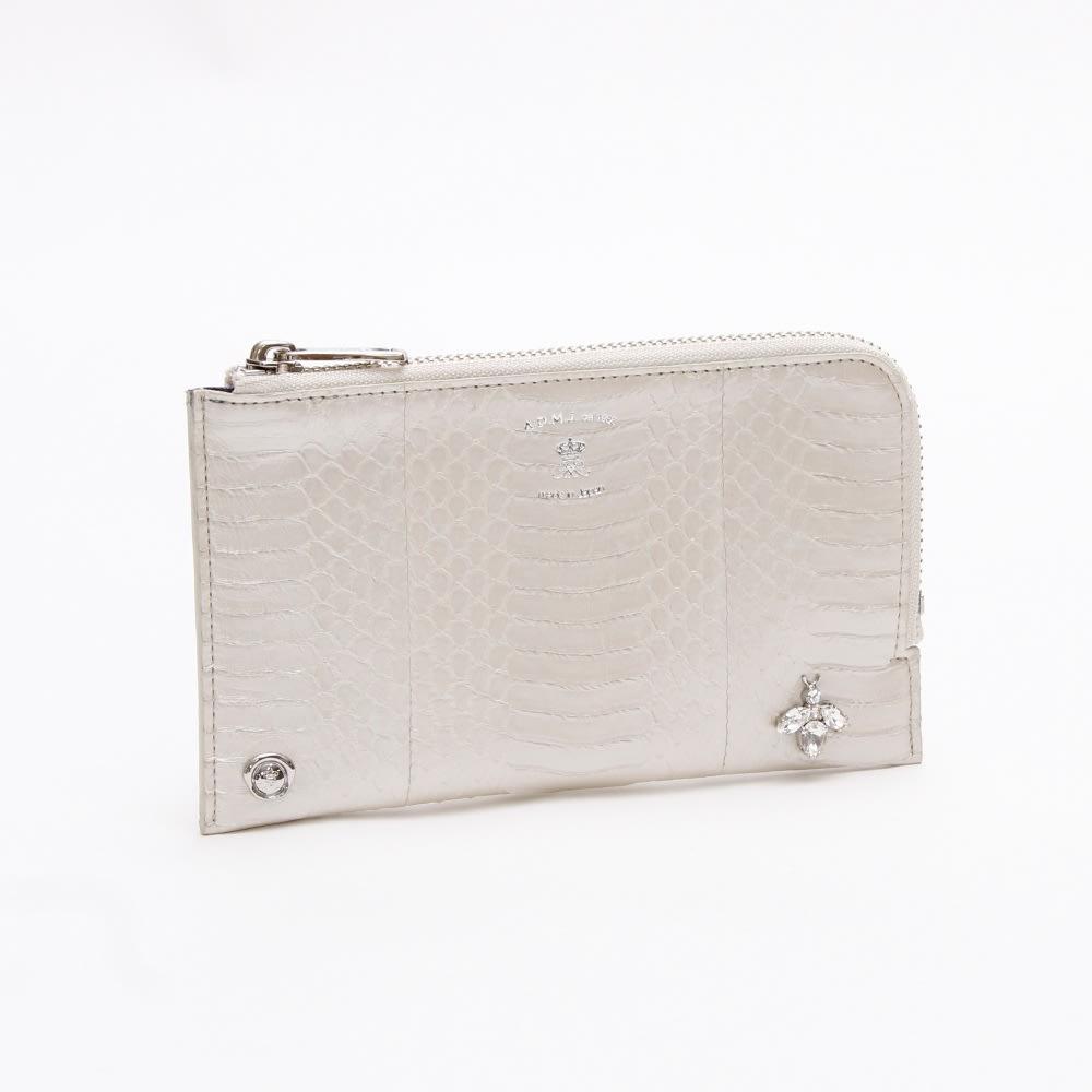 A.D.M.J./エーディーエムジェー 財布 21SS06005 (ア)ホワイトケイ