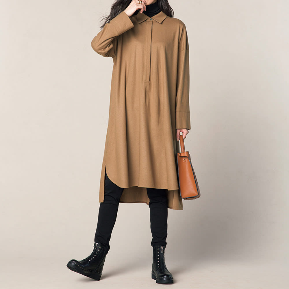 KANNA/カンナ ファスナーデザイン ショートブーツ(スペイン製) コーディネート例