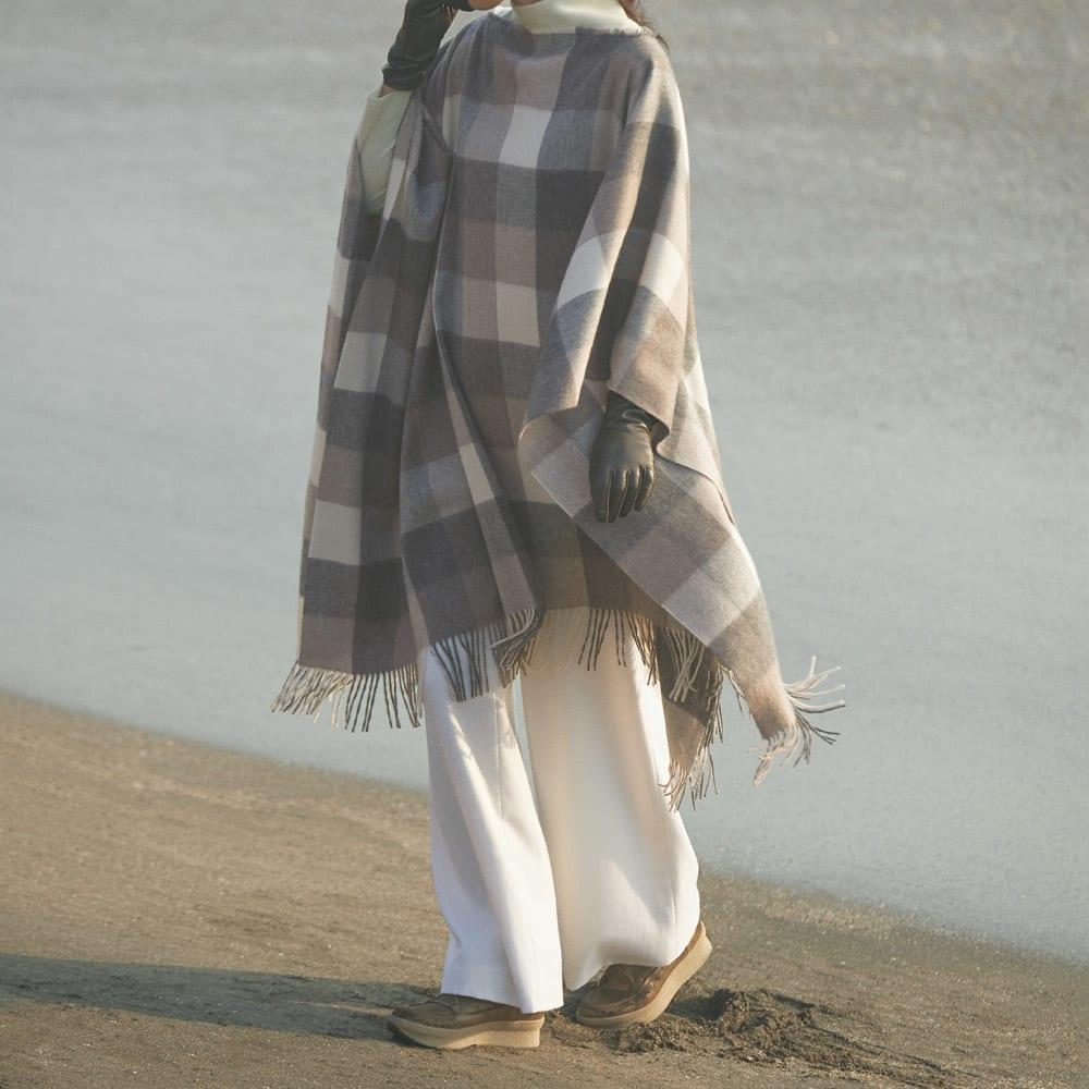 KANNA/カンナ ムートン使い スニーカーブーツ(スペイン製) コーディネート例