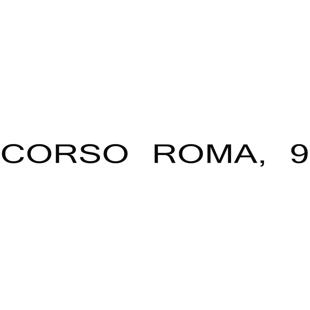 CORSO ROMA,9/コルソローマ9 一枚革 スクエアトゥ フラットシューズ(イタリア製)