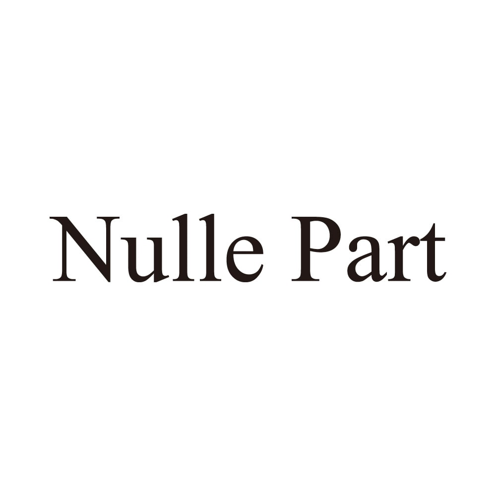 Nulle Part/ニルパール メタリックレザー バッグ