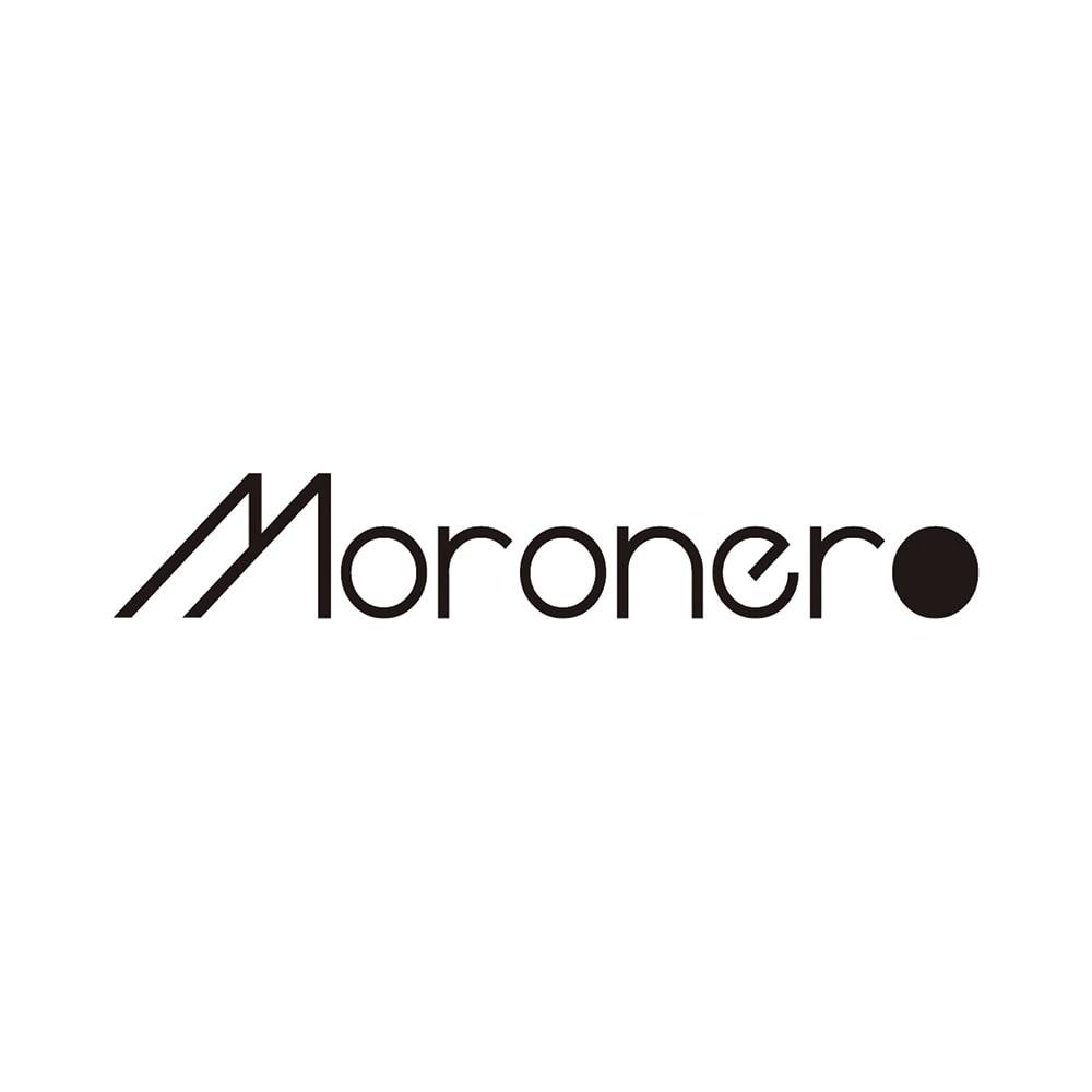 Moronero/モロネロ ウール混 チェック柄 ストール(イタリア製)