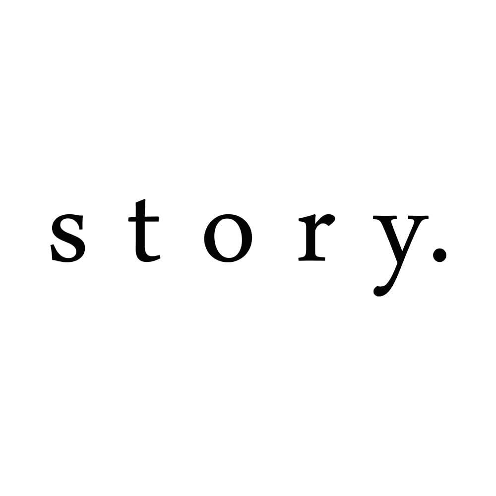 story./ストーリー レザーコンビ 2ウェイバッグ