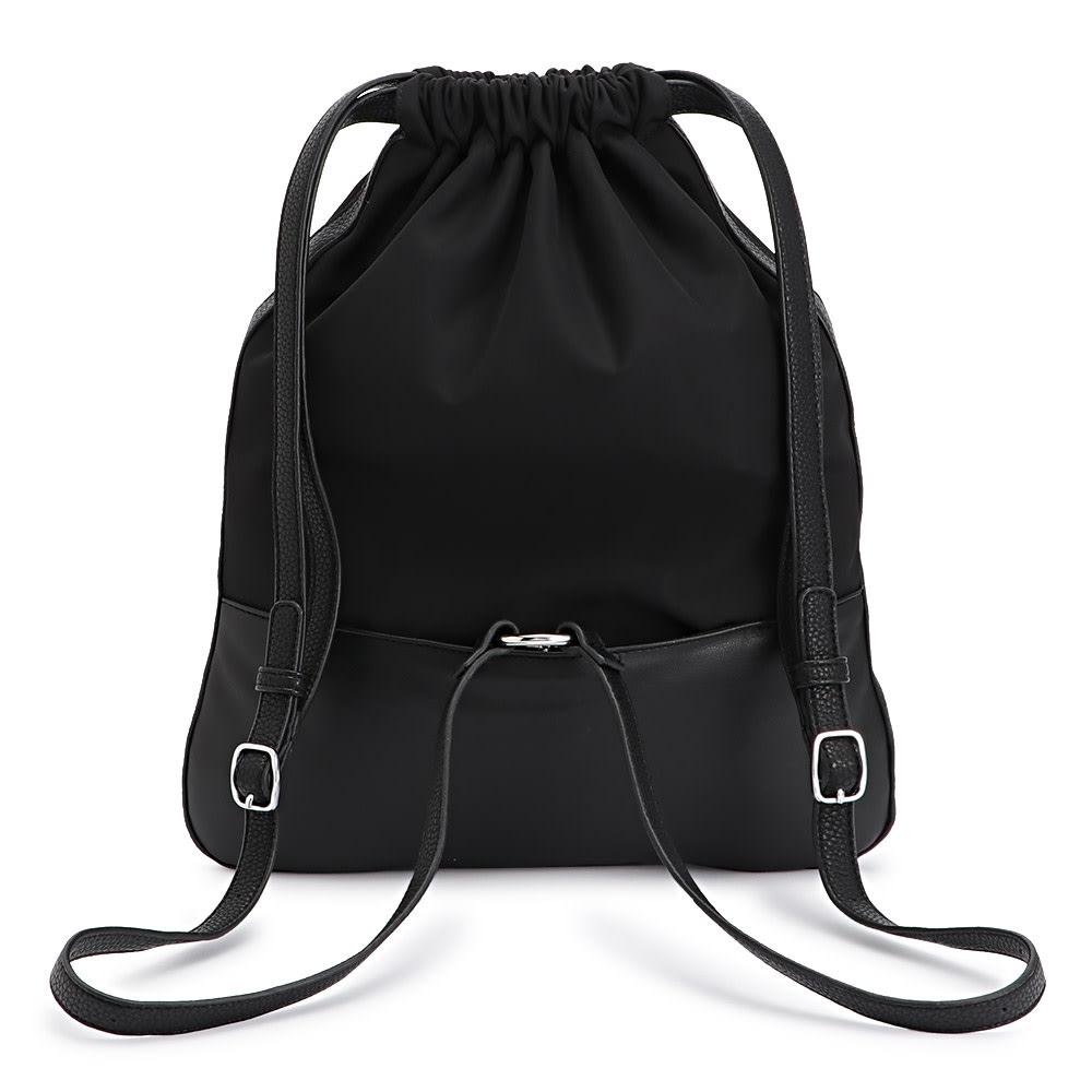 Cachellie/カシェリエ キルティング 3ウェイ バッグ (ア)ブラック BACK