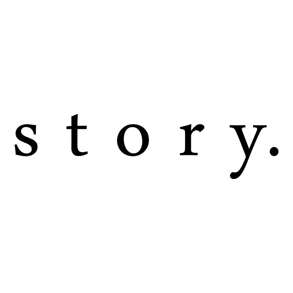 story./ストーリー 素材コンビ トートバッグ