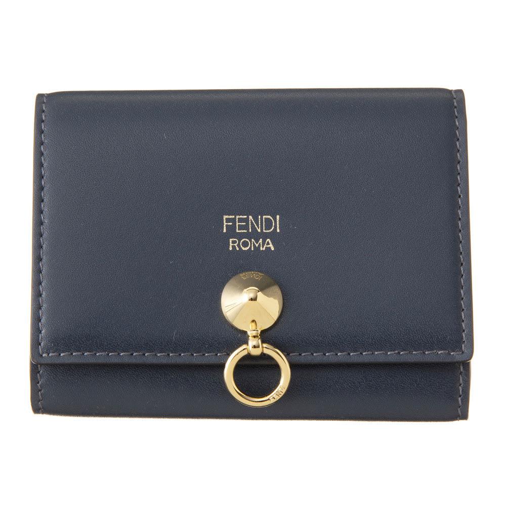 FENDI/フェンディ カードケース 8M0217 6GM (イ)ネイビー