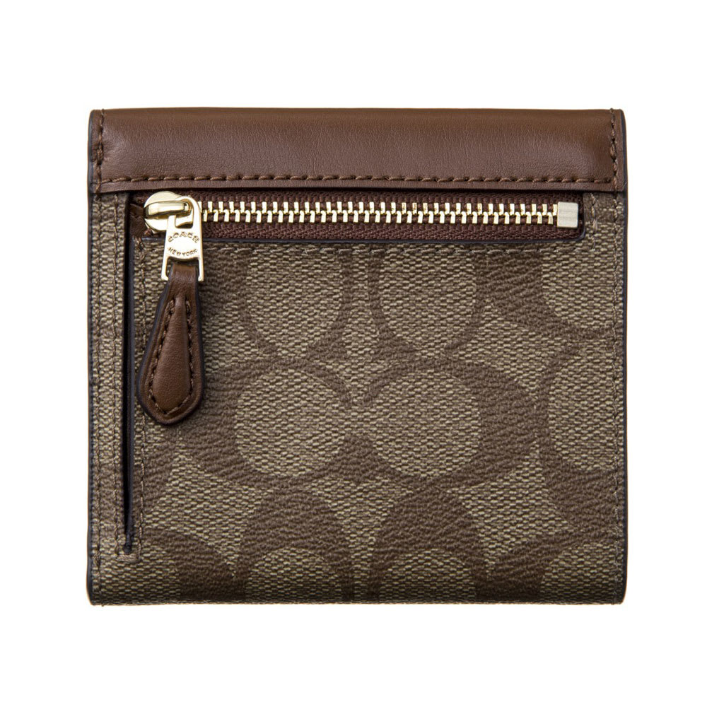 COACH OUTLET/コーチアウトレット 折財布 F87589 Back