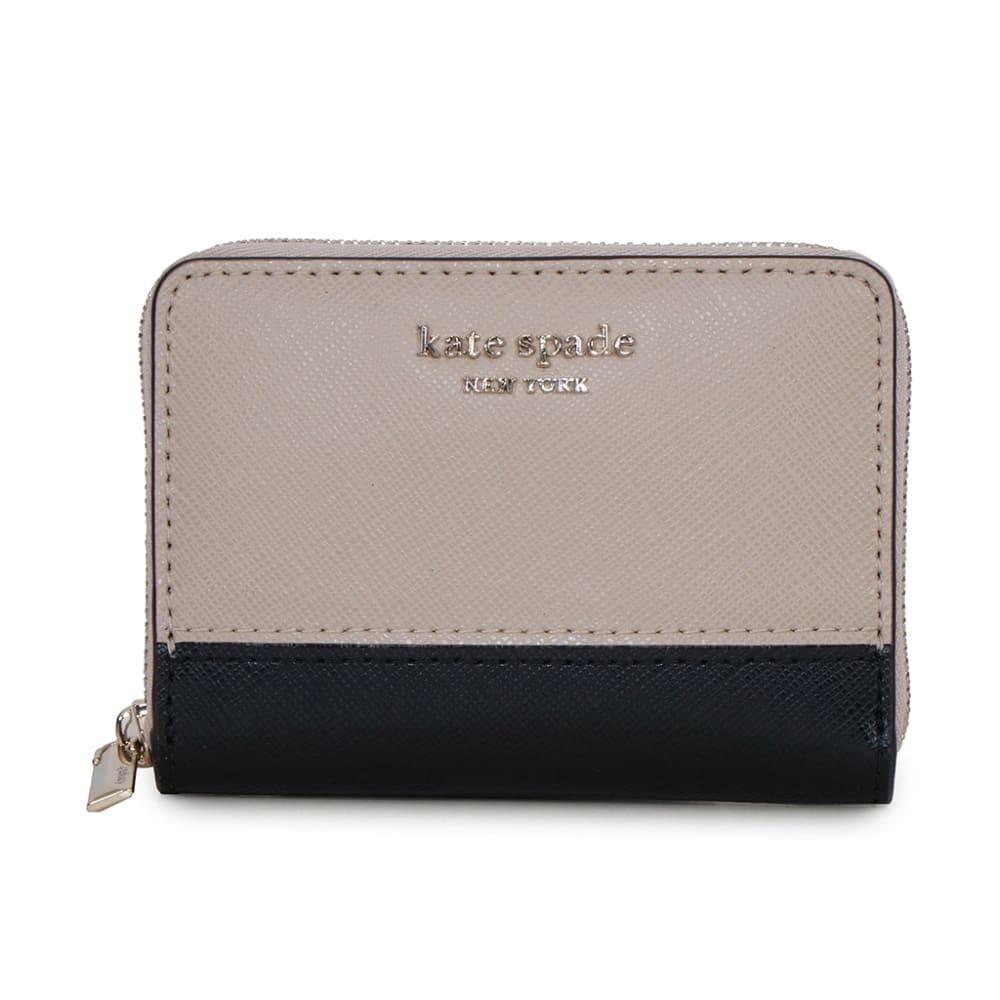 kate spade/ケイト・スペード 折財布 PWR00016 (ウ)ベージュ/ブラック
