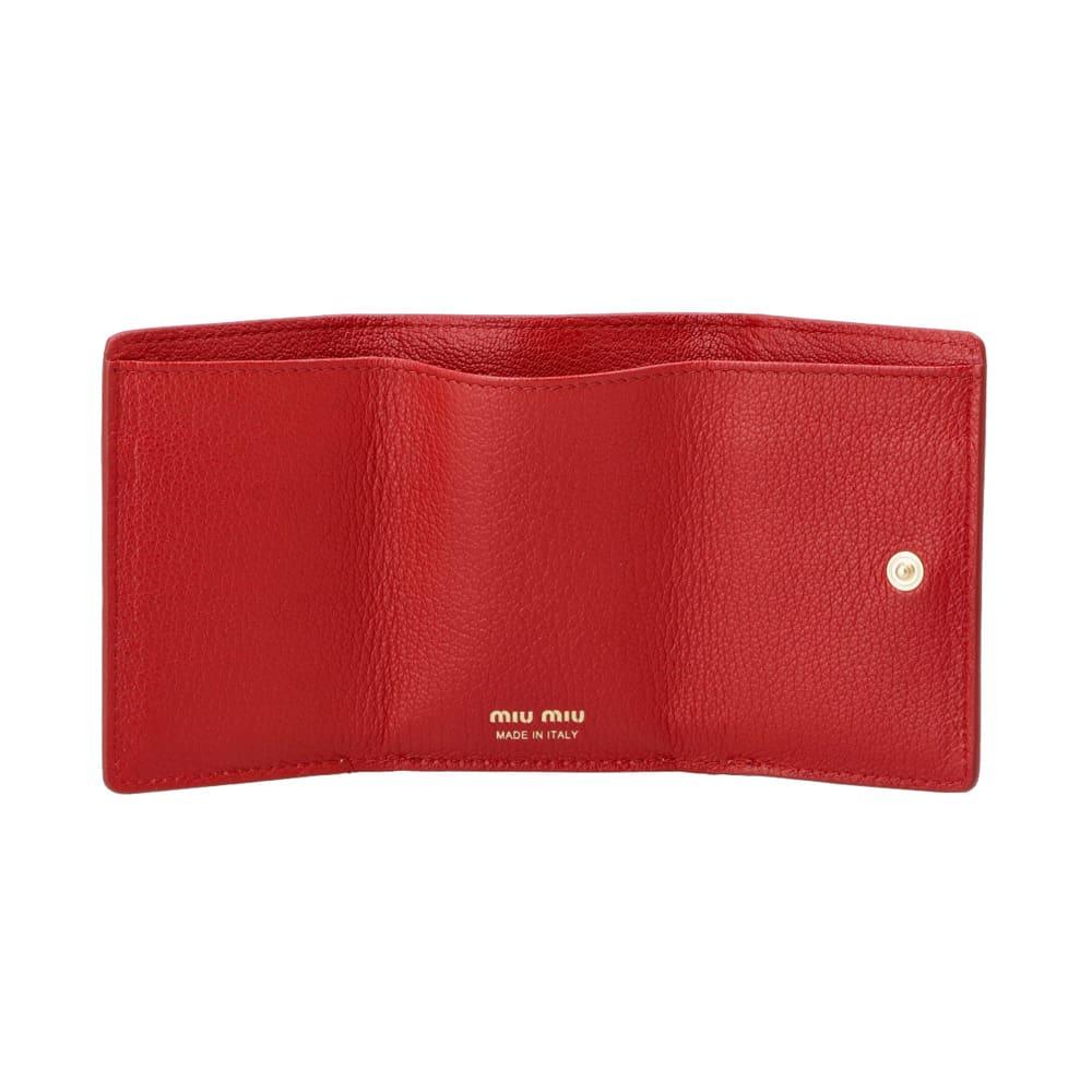 MIU MIU/ミュウミュウ 折財布 5MH0212BC Inside