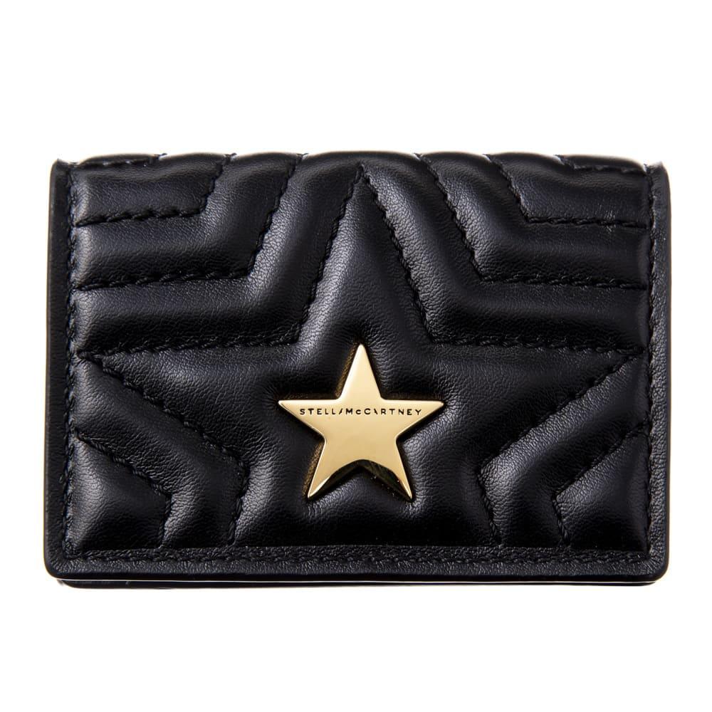 Stella McCartney/ステラマッカートニー 折財布 529318 W8214 (ア)ブラック
