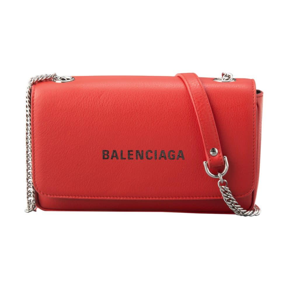 BALENCIAGA/バレンシアガ チェーンショルダー 537387 DLQ4N (イ)レッド