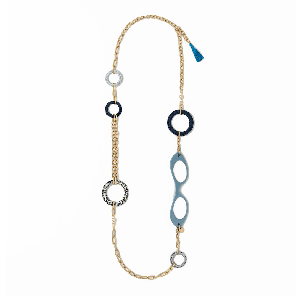 LOUPE COLLIER/ルーペコリエ フーヒップコラボ ネックレス(ブラック) シニア&シルバー用品