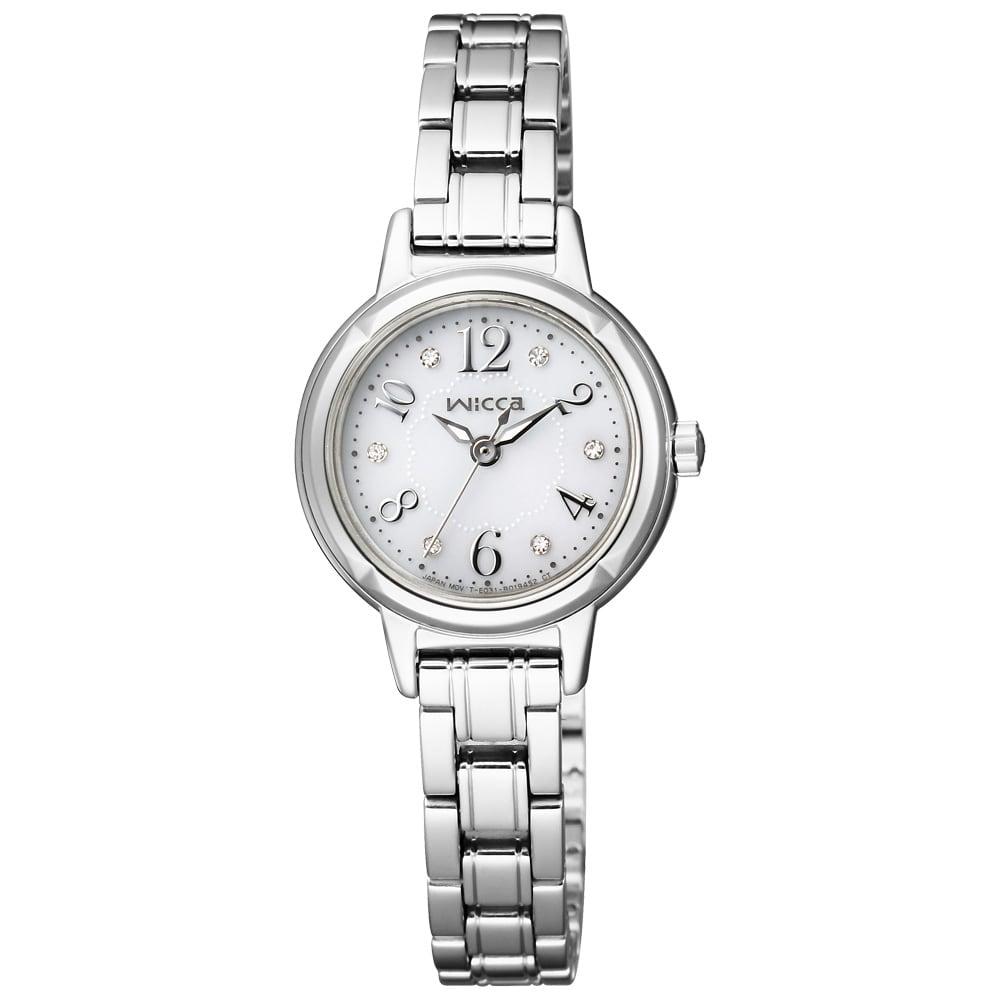 CITIZEN/シチズン WICCA(ウィッカ) ソーラーテック時計 KH9-914-15 ホワイト 【通販】 【レディース・女性】