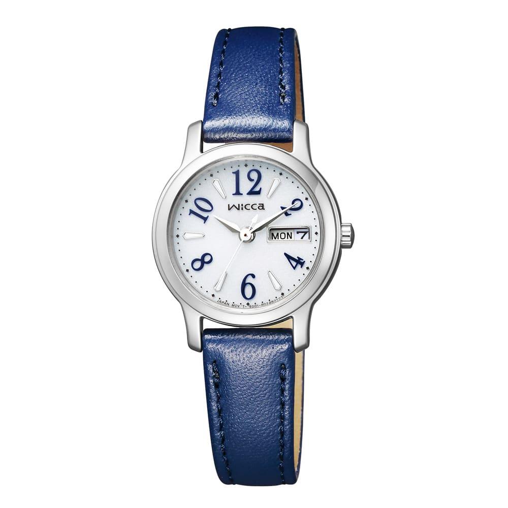 CITIZEN/シチズン WICCA(ウィッカ) ソーラーテック時計 KH3-410-10 ネイビー 【通販】 【レディース・女性】