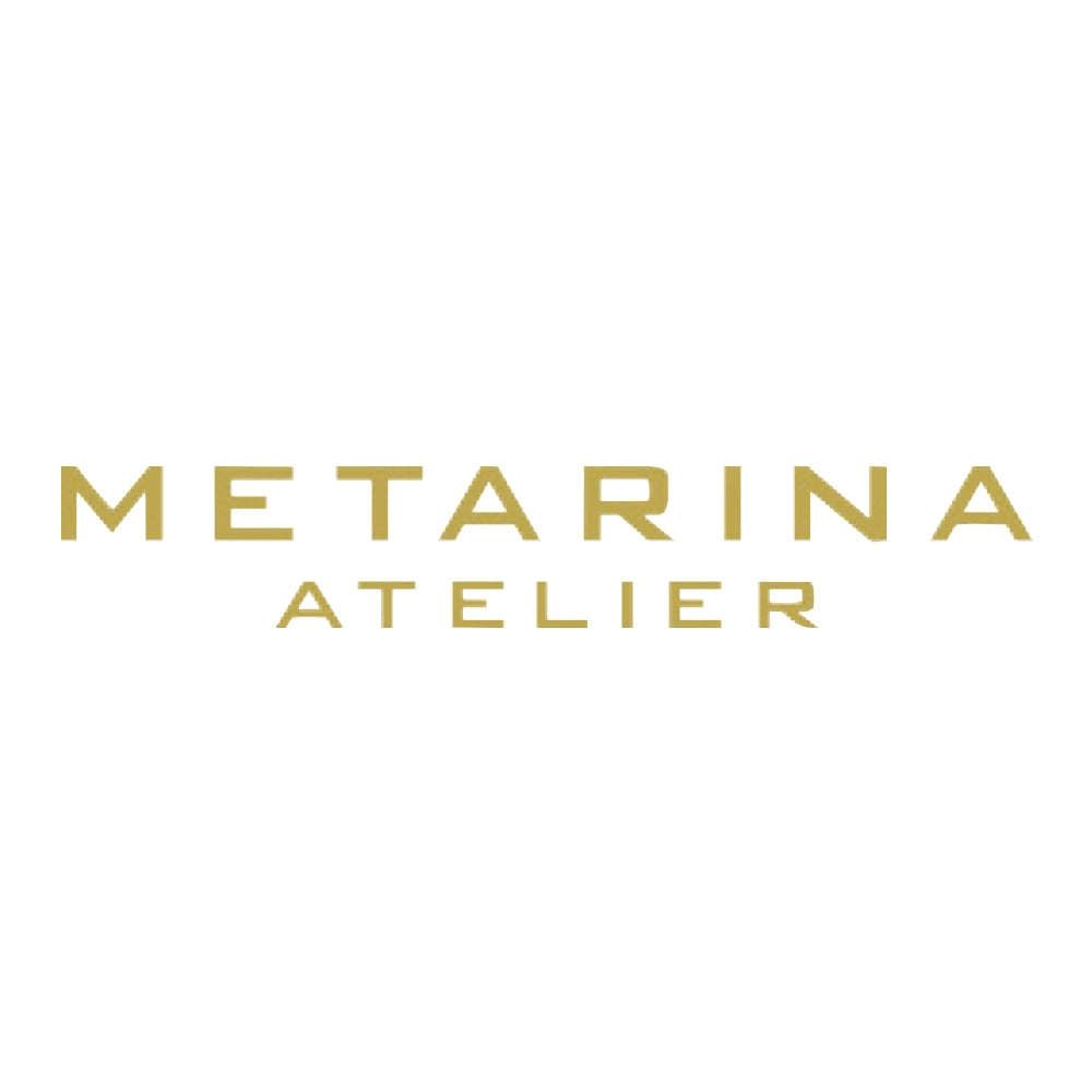 ATELIER METARINA/アトリエ メタリナ クリスタルガラスパール 多連ネックレス