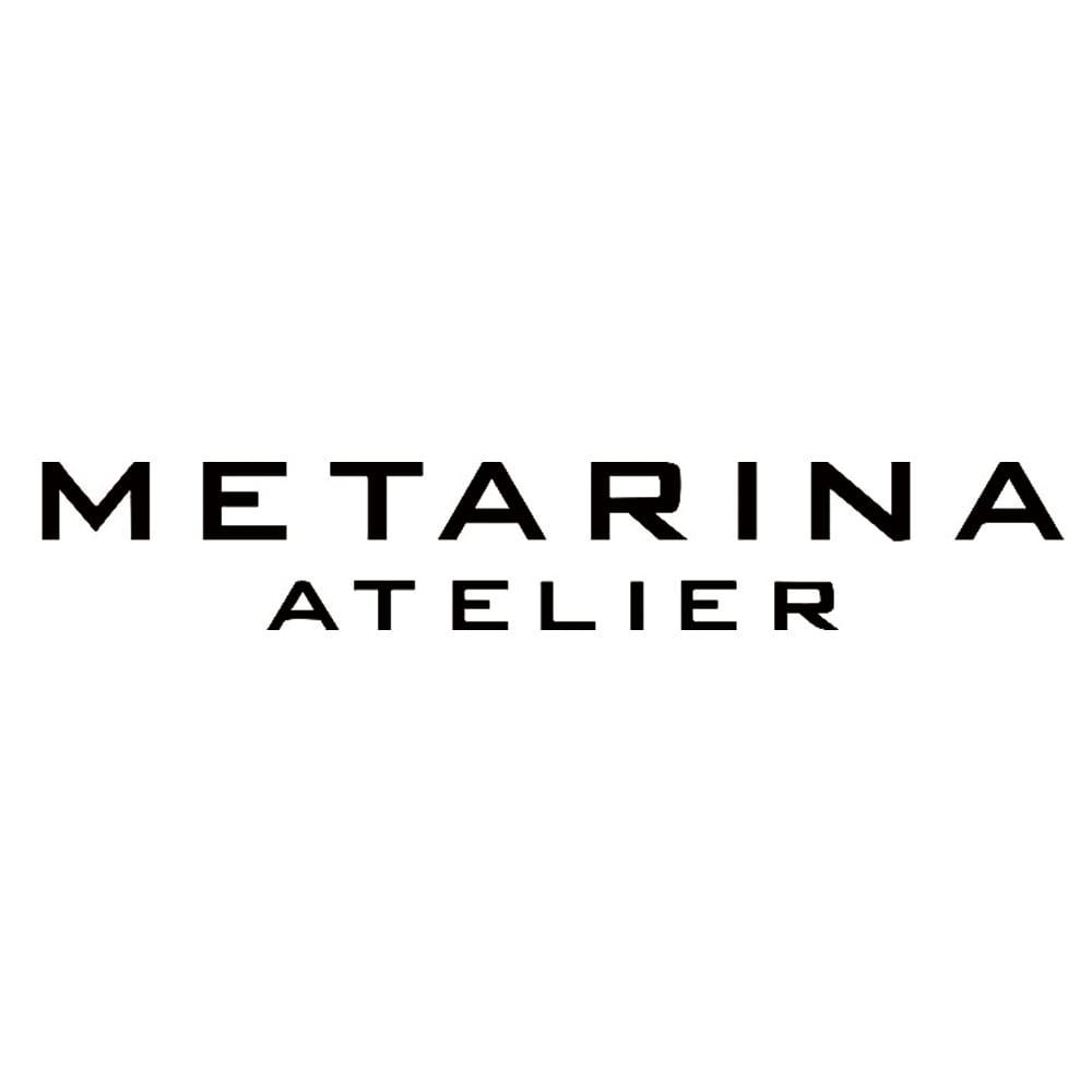 ATELIER METARINA/アトリエ メタリナ マグネサイト×スモーキークオーツ ミックスネックレス