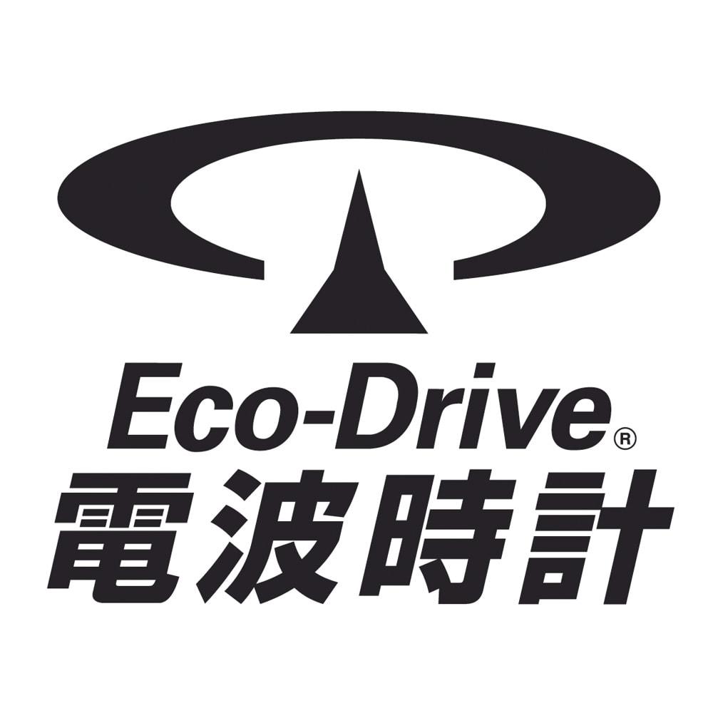 CITIZEN/シチズン EXCEED(エクシード) ladys HAPPYFLIGHT エコ・ドライブ電波時計 多極受信型 ES9385-57W