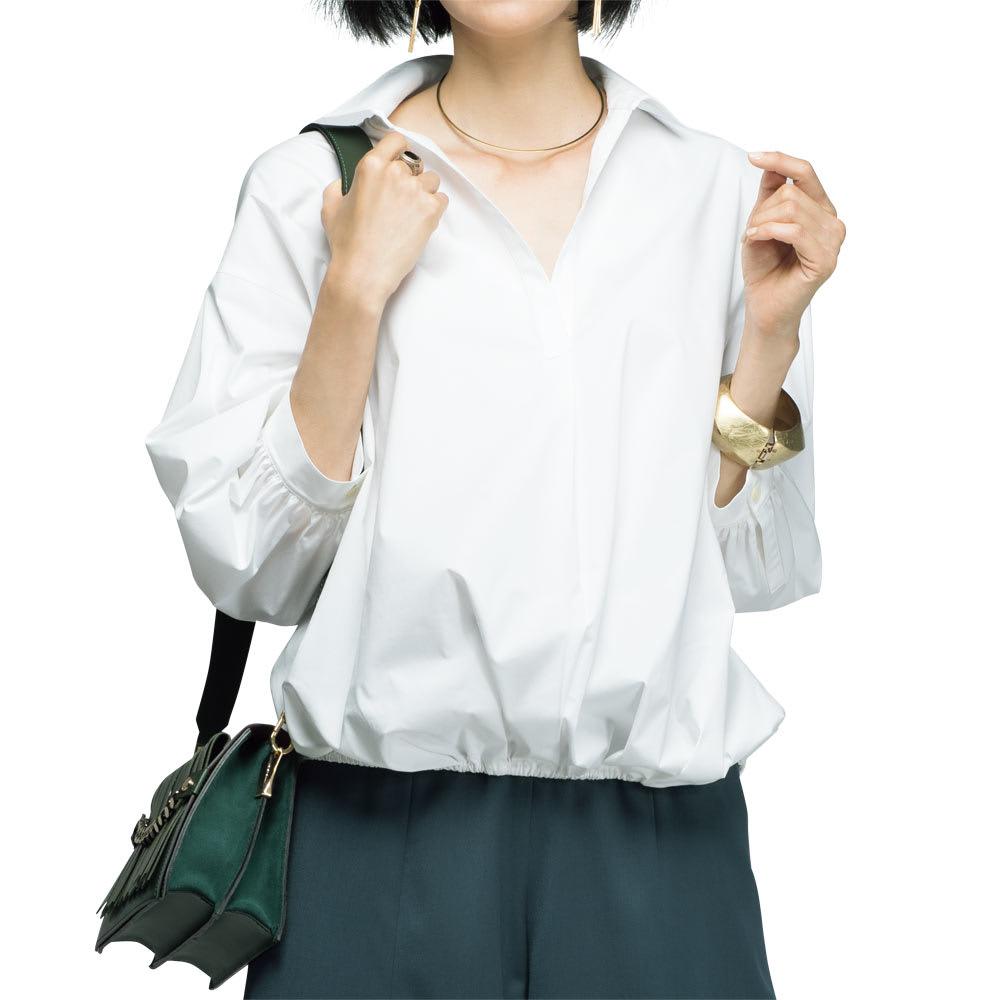 押田比呂美×碌山 オニキス デザインリング コーディネート例