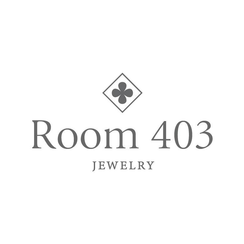 Room403/ルームヨンマルサン K10YG ルーナ シンプル ピアス