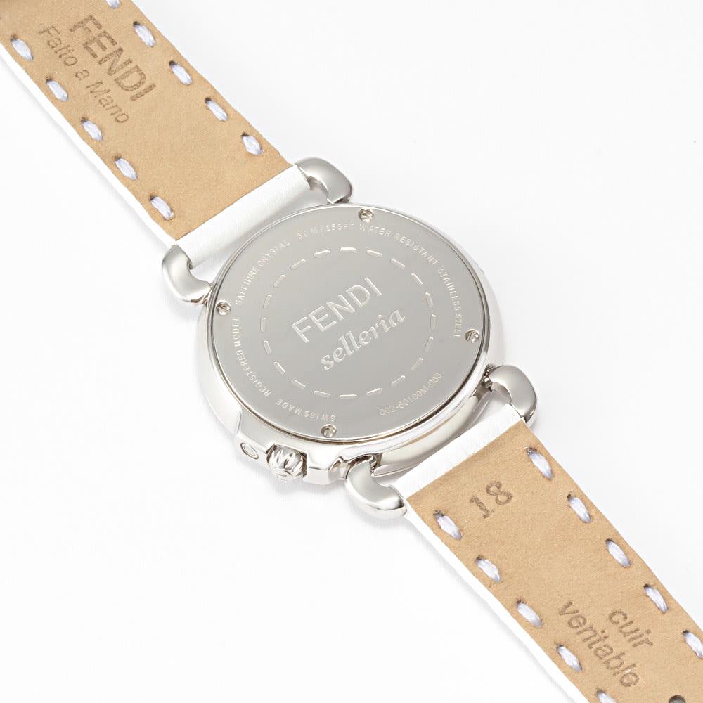 FENDI/フェンディ セレリア ダイヤ(2色ベルト付き) BACK