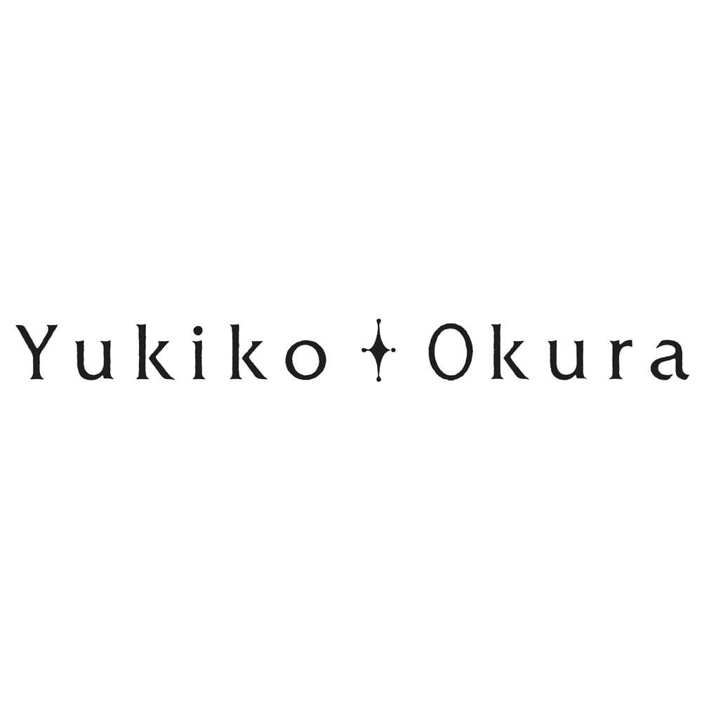 YUKIKO OKURA/ユキコ・オオクラ SV カラーストーン フープピアス