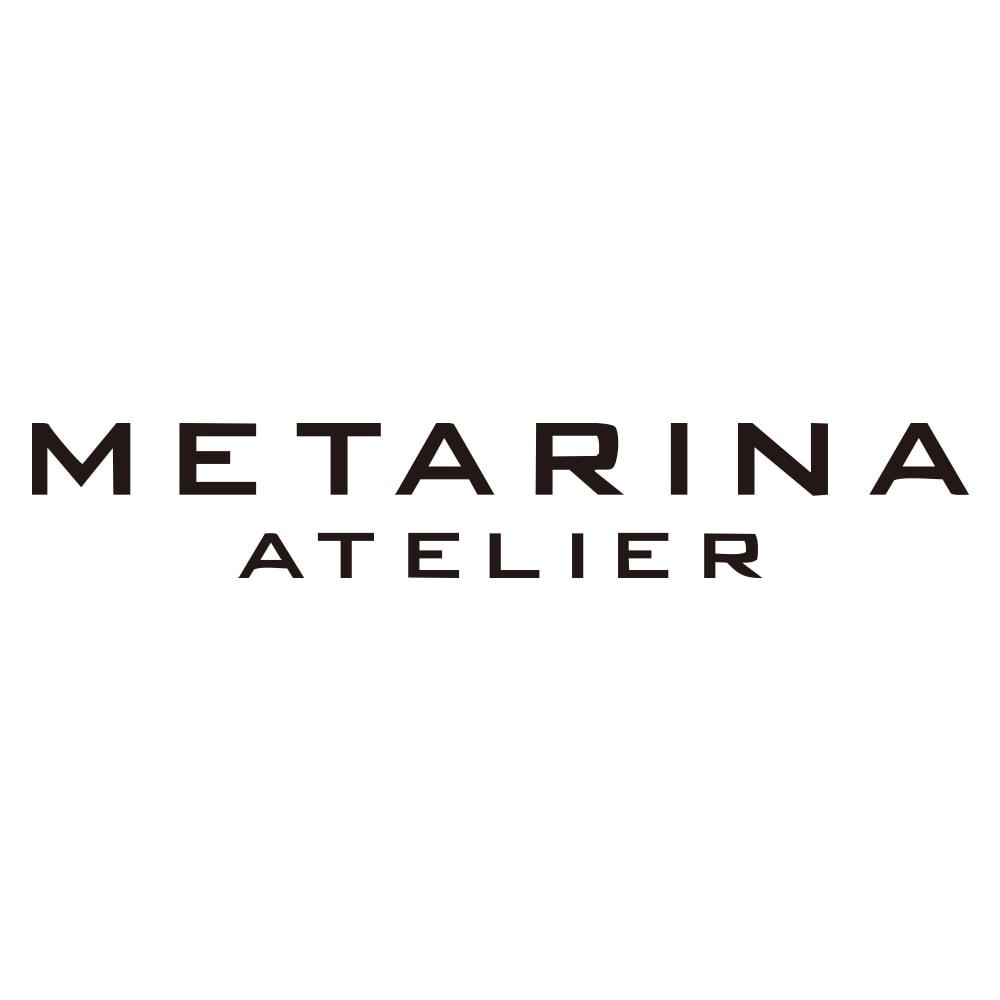 ATELIER METARINA/アトリエ メタリナ ブラック アシンメトリー イヤリング
